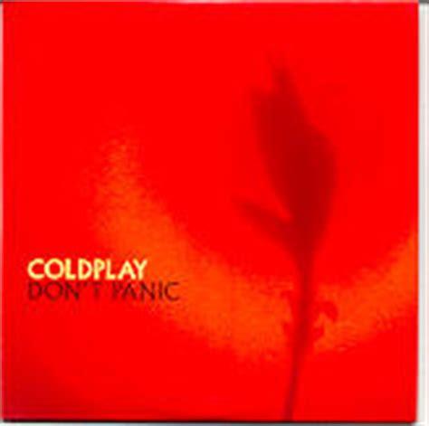 coldplay don t panic coldplay cd single at matt s cd singles