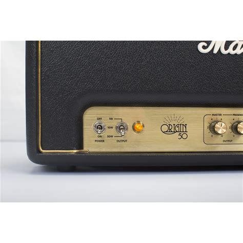 testata marshall marshall origin50h testata 50 watt