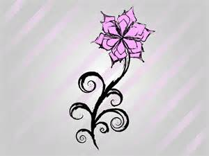 cool easy flower designs to draw on paper free flower vector drawing art pinterest