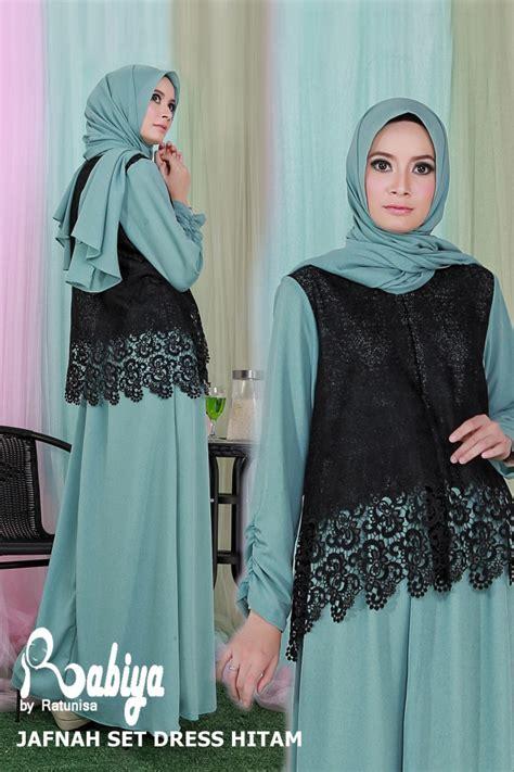 Gamis Oki Set Syari 1 model trendi baju gamis busana muslim terbaru 2014 holidays oo