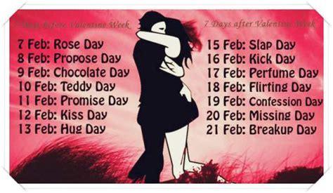 day list 2017 week list 2017 complete valentines date sheet