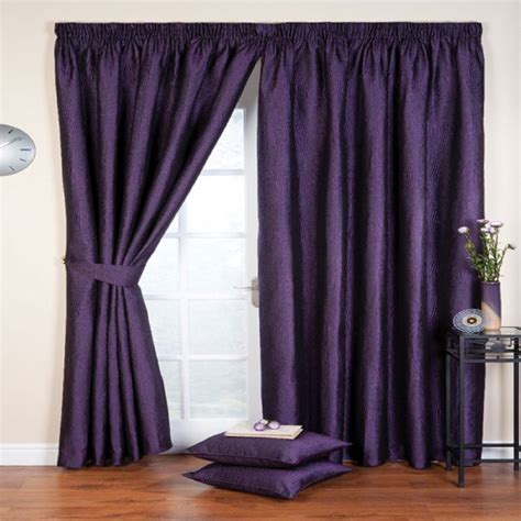 amethyst curtains whiteheads ripple amethyst lined ready made curtains in