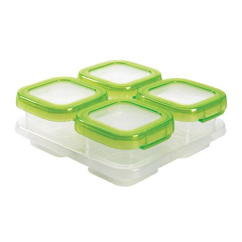 Baby Blocks? Freezer Storage Containers   4 Ounce Set   OXO