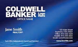 coldwell banker business card template coldwell banker business card stickers get custom realty