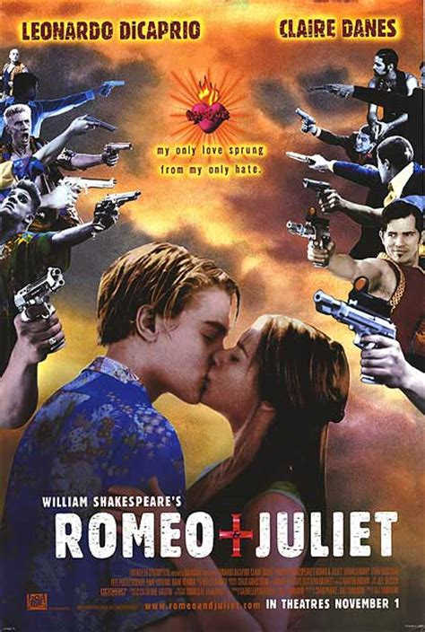 theme song of romeo and juliet 1996 romeo and juliet movie posters at movie poster warehouse