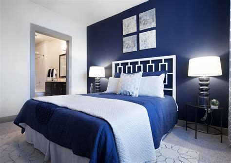 Cold Bedroom by Moody Interior Breathtaking Bedrooms In Shades Of Blue