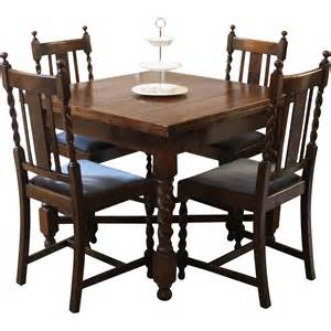 Antique Dining Tables And Chairs Antique Draw Leaf Pub Dining Table And Chairs Barley Twist Sold On Ruby