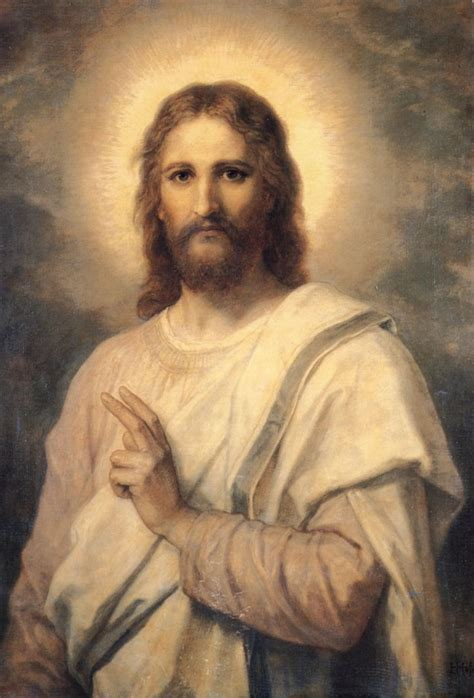 Wajah Rich a painting of jesus by heinrich hoffmann often called