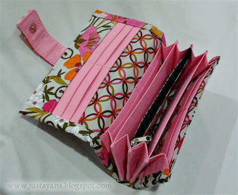 tutorial wallet accordian long wallet sewing projects burdastyle com