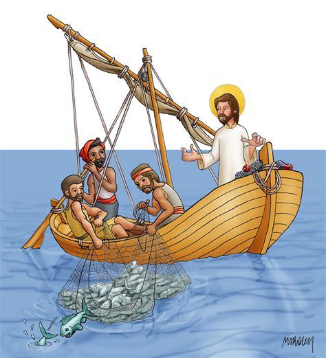imagenes de la pesca milagrosa pesca milagrosa dibujos y cosas para catequesis