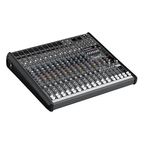 Mixer Audio 16 Ch mackie profx16 16 channel desktop sound reinforcement