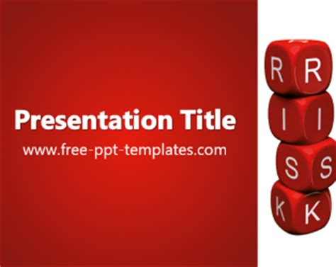 ppt templates for risk risk ppt template free powerpoint templates
