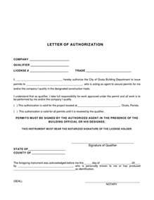 Permission Letter by Permit Authorization Letter Sle Authorization Letter To Process Permit Sle Permission