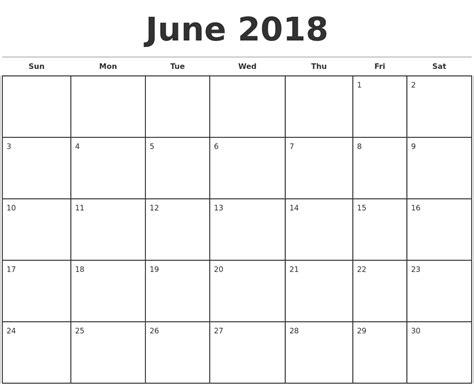 june calendar word printable calendar yearly