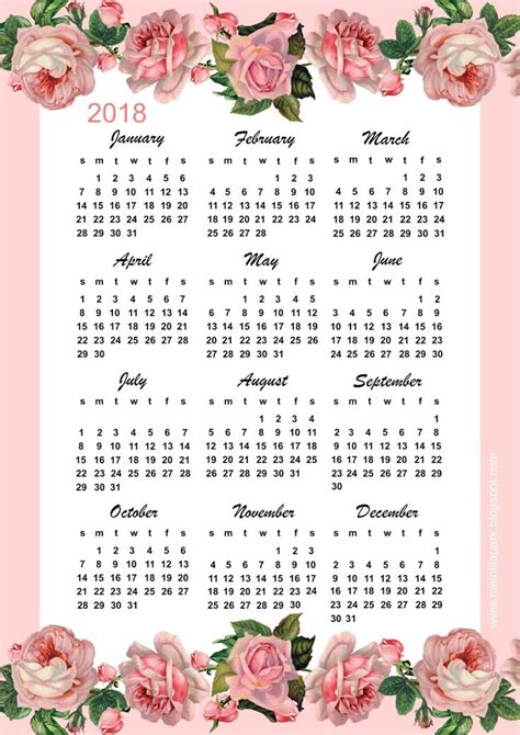 make your own calendar free 2018 329 best free printable 2018 calendars images on