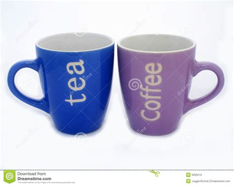 tea and coffee mugs tea and coffee mugs royalty free stock images image 5835519