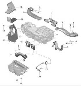porsche 991 cabin interior air filter 99157237100 99157237100 1 design 911