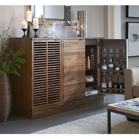 crate and barrel liquor cabinet marin large bar media cabinet crate and barrel