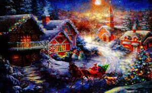 Bringing home the christmas tree quot digital art art prints and posters