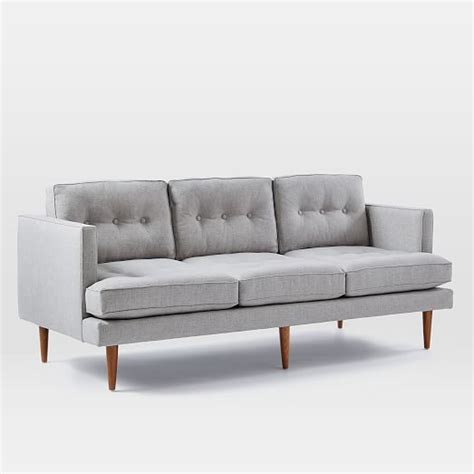 west elm peggy sofa peggy mid century sofa west elm