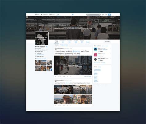 nieuwe layout twitter twitters nieuwe visuele stijl een foto zegt meer dan 1
