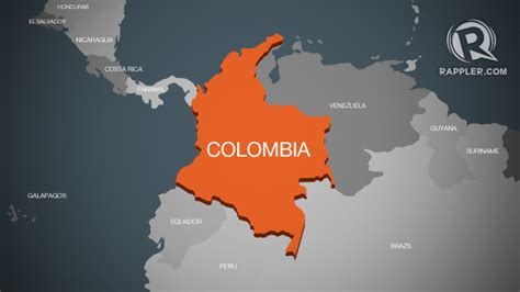 colombia on world map 11 is colombia s youngest mule