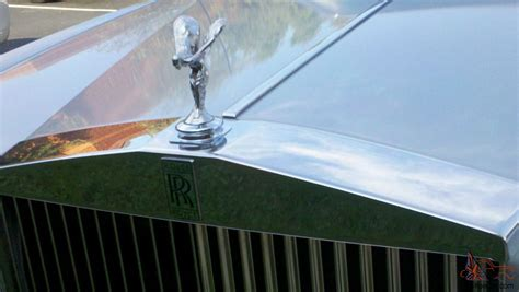 rolls royce blue interior 1982 rolls royce silver spur silver with dark blue interior