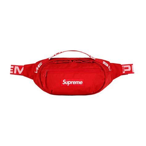 supreme bag supreme 18ss waist bag