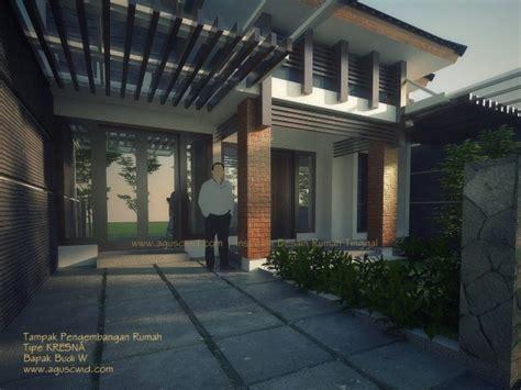 layout renovasi rumah renovasi rumah tipe kresna bapak budi header aguscwid