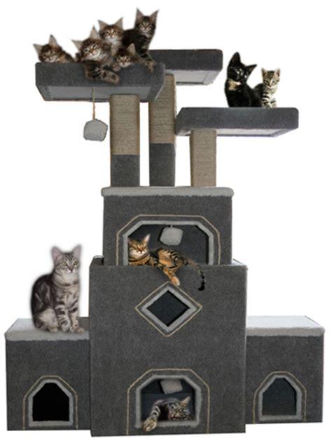Handmade Cat Furniture - our cat trees and cat furniture are handmade cat condos