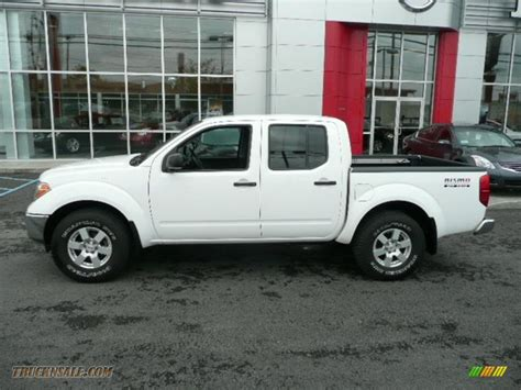 nismo nissan truck 2005 nissan frontier nismo crew cab 4x4 in avalanche white