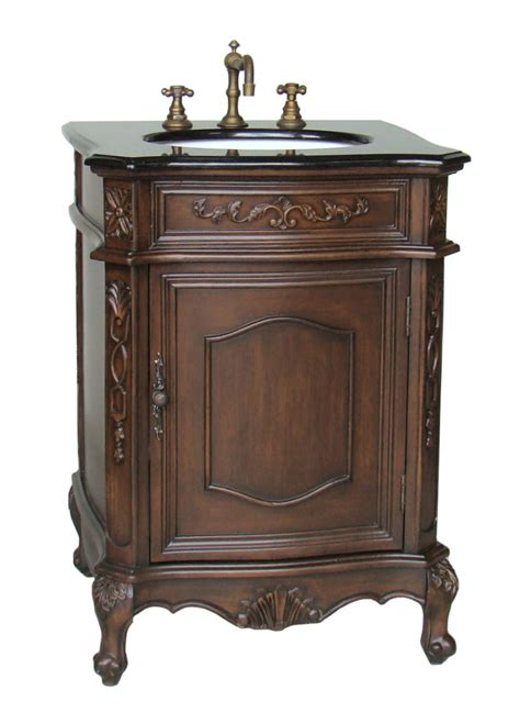 24 Inch Dresser by 24 Inch Susan Vanity Brown Vanity Black Top Vanity