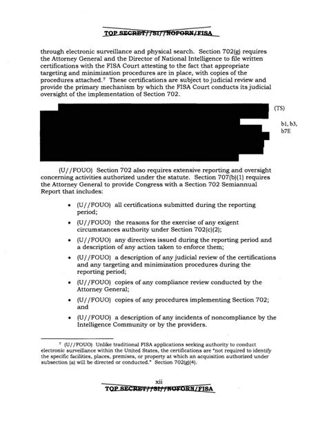 section 702 of the foreign intelligence surveillance act doj inspector general report on fbi surveillance under