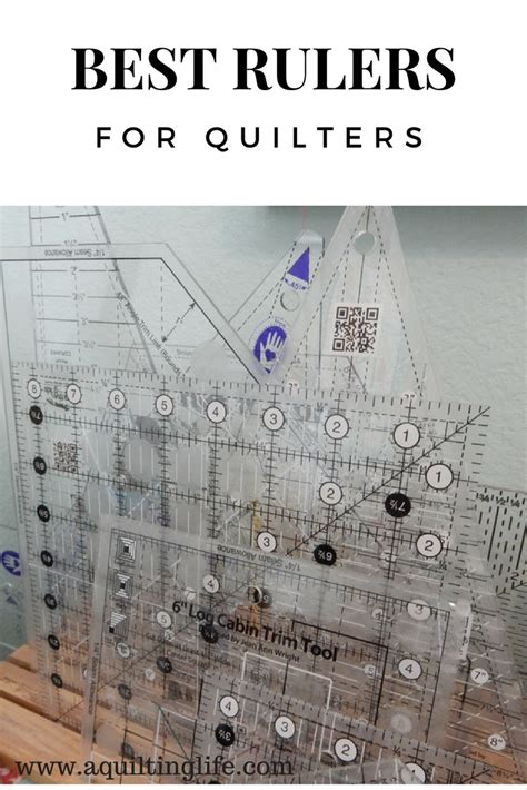 Quilt Ruler by Best Rulers For Quilters A Quilting A Quilt