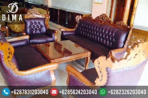 Kursi Tamu Ukir Murah kursi sofa tamu jati mewah murah terbaru ukir jepara