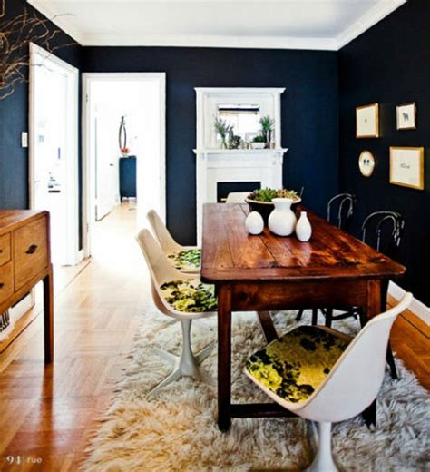 Bold Wood Interiors by Dramatic Design 16 Bold Black Room Interiors