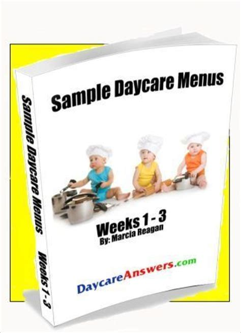 child care menu templates free 15 daycare menu templates free ideas sles exles