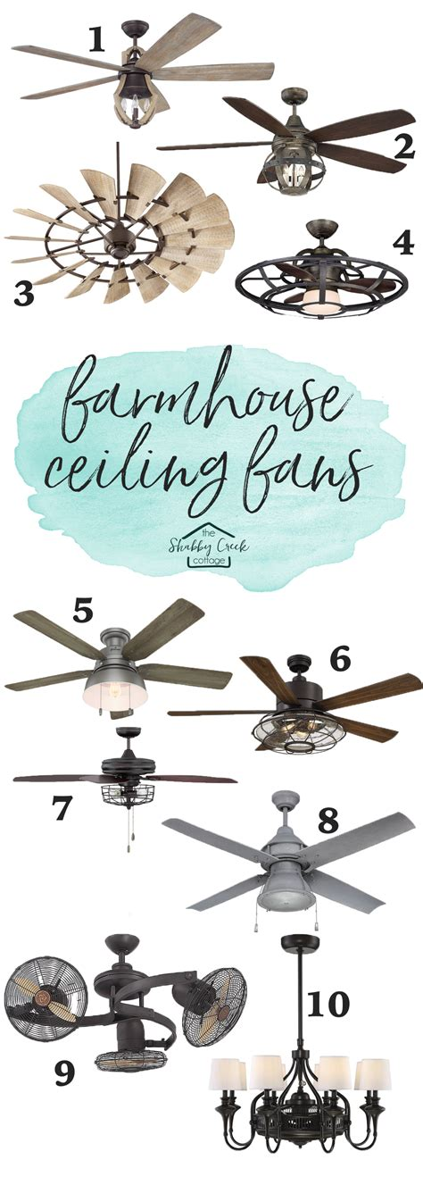 farmhouse style ceiling fans the best farmhouse style ceiling fans starting 200