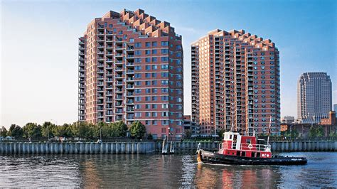 jersey city appartments portside towers apartments downtown jersey city 155 washington street