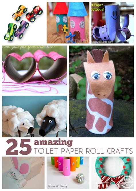 Crafts You Can Make With Toilet Paper Rolls - 25 amazing toilet paper roll crafts