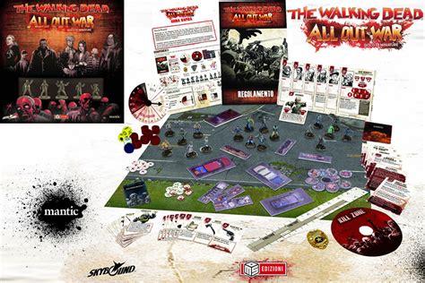 gioco da tavolo the walking dead all out war gioco da tavolo ita