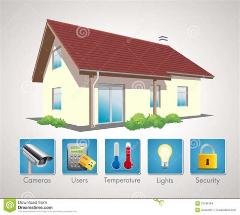 home automation 5 stock images image 37186184