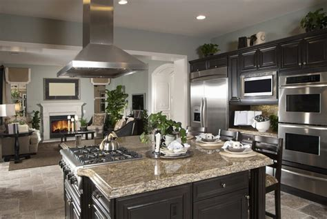 kitchen color schemes with black countertops 34 gorgeous kitchens with stainless steel appliances