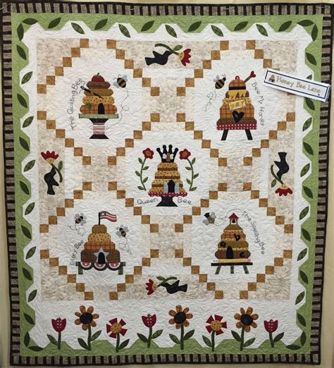 pattern companies honey bee lane complete applique pattern accessory pack