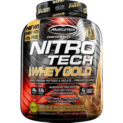 Whey Protein Nitro Tech nitro tech 100 whey gold by muscletech lowest prices at strength