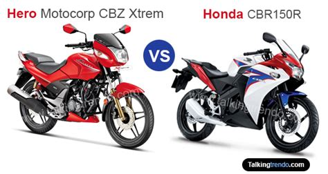 hero cbr price hero xtreme sports vs honda cbr150r