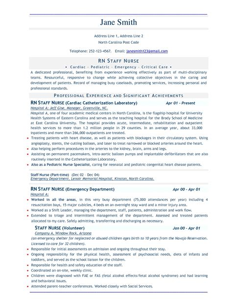 business resume template free professional resume template sle resume