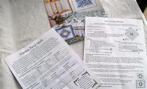quilt pattern garden twist quilt pattern garden twist