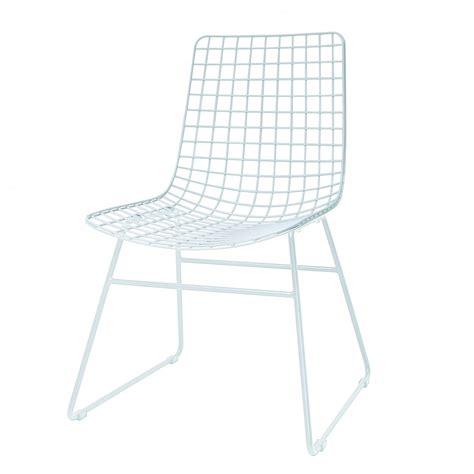 La Chaise Blanche by Chaise Blanche Wire En Fils M 233 Talliques Hk Living