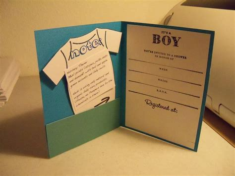 Handmade Wedding Invitations Australia - template handmade baby shower invitations australia